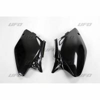 FIANCATINE LATERALI UFO HONDA CRF 450 02-04 NERE