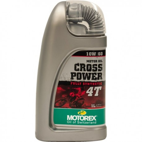 OLIO MOTORE MOTOREX CROSS POWER 10W60
